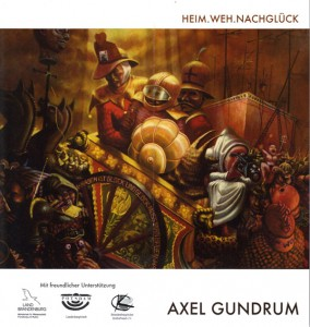 Axel Gundrum Karte vorderseite