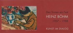 Heinz Boehm-Einladungskarte